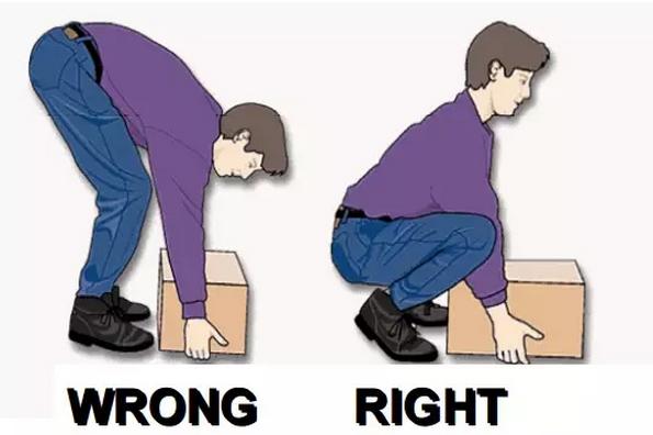 """涨姿势丨如何""""搬砖""""不闪腰?"""