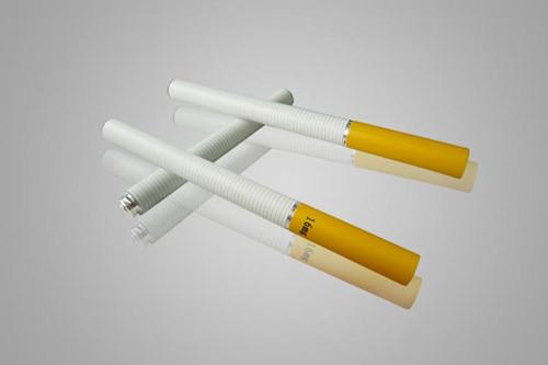 电子烟对人体有害哦!