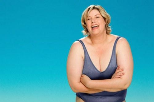 过于肥胖身上形成的红色肥胖纹