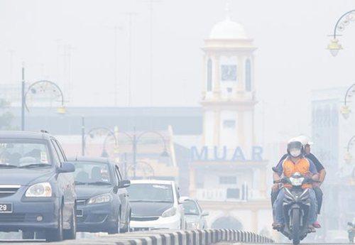 马来西亚和新加坡烟霾污染