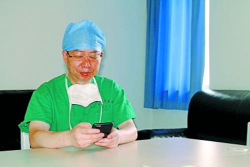 医生术后给家属发短信五年发近千条