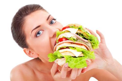 狼吞虎咽影响减肥效果