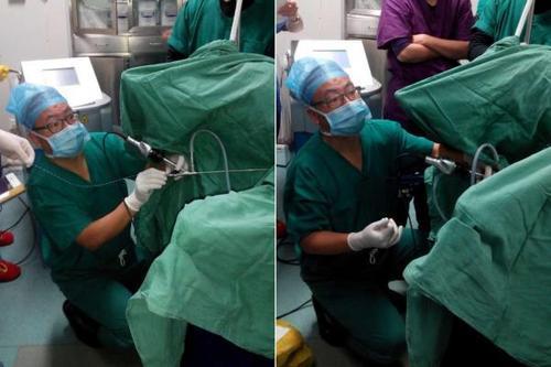 医生跪2小时为患者手术感动朋友圈