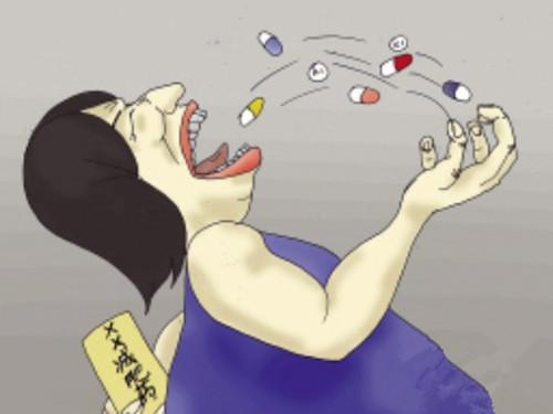女子乱吃减肥药引发糖尿病险丧命