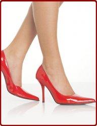 高跟鞋穿多了脚会怎么样,容易造成足部大脚趾向外倾斜