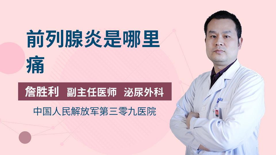 前列腺的位置在哪里_前列腺炎是哪里痛_詹胜利医生_视频问医生_妙手医生